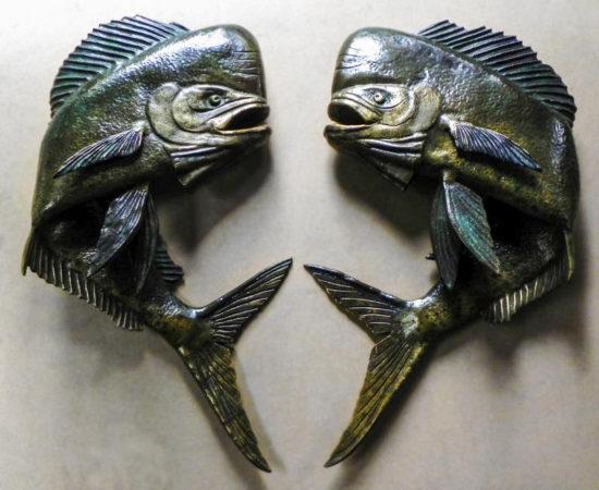 filter_Bronze Mahi-Mahi Sculpted Door Handles